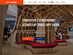 Startup Joomla Template - AT Cowork