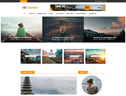News Joomla template - ET Journey