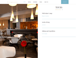 Hotel and Resort Joomla Template - Elegance Hotel