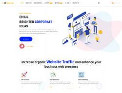 Marketing Company Joomla Template - ET Digital