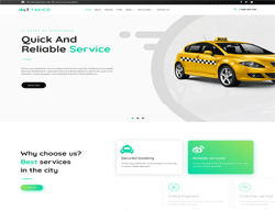 Taxi Booking Wordpress Theme - LT Taxico