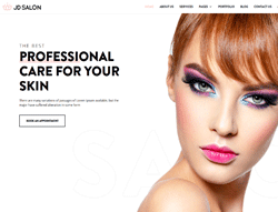 Beauty Joomla Template - JD Salon