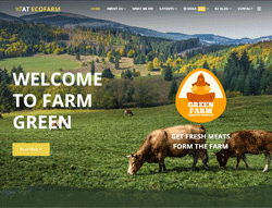 Farm Joomla Template - AT EcoFarm