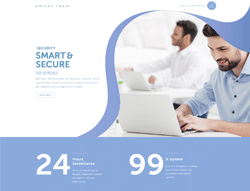 Security Joomla Template - Smart Tech Joomla Template