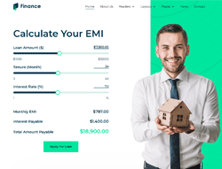 Finance Consulting Joomla Template - JD Finance