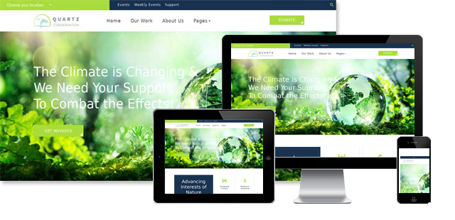 Quartz - Eco Joomla Template