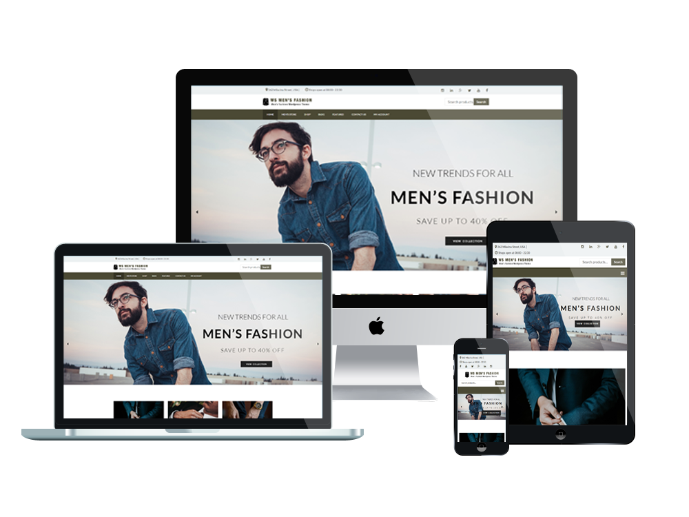 Fashion Wordpress mobile theme