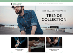 Fashion WooCommerce WordPress Theme - WS Men Fashion
