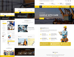 Responsive Industrial Business Html Template - Davana
