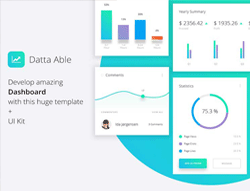 Datta Able Bootstrap Admin Template - Datta Able