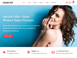 Fashion e-Commerce Joomla Template - JB Fashiony
