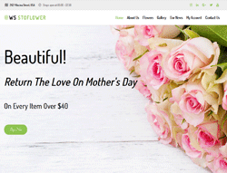Flowers WooCommerce WordPress Theme - WS Stoflower