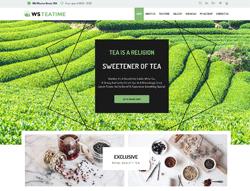Tea Shop WordPress theme - WS TeaTime