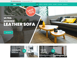 Sofa Store WordPress theme - WS Sofa