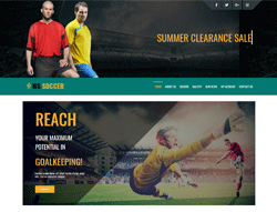 Sport Club WooCommerce WordPress theme - WS Soccer