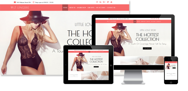 WS Lingerie - Underwear WooCommerce WordPress theme