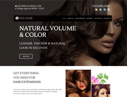 Spa Salon WooCommerce WordPress Theme - WS Hair