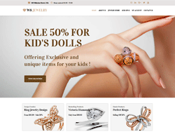 Jewelry WooCommerce WordPress theme - WS Jewelry