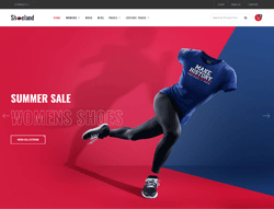 Footwear eCommerce Joomla Theme - JB Shoeland