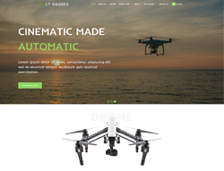 Sport WordPress theme - LT Drones