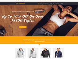 Sportswear WordPress Theme - LT SportsWear