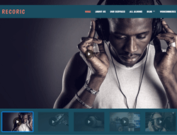 Music WordPress Theme - LT Recoric