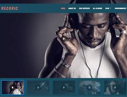 Music WordPress Theme - LT Recoric