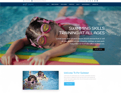 Swimming WordPress Theme - LT Swim