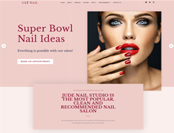 Beauty salon wordpress theme - LT Nail