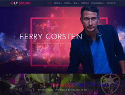 music wordpress theme - LT Sound
