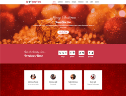WordPress Christmas theme - LT Joyful
