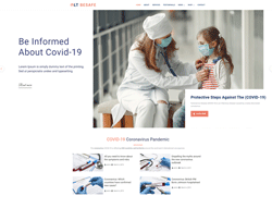 Medical WordPress theme - LT BeSafe
