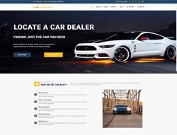 Car Dealer WordPress Theme - LT Carmarket