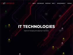IT Company WordPress Theme - LT Inteco