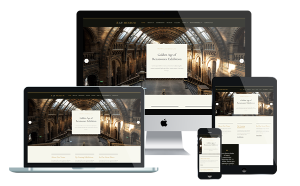 LT Museum  - Exhibition WordPress Theme