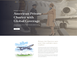 Airline WordPress Theme - LT Aircoms