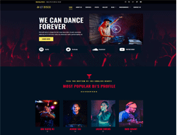 Music wordpress theme - LT Disco
