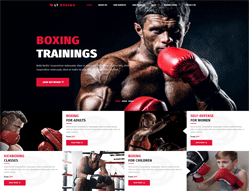 Sport Wordpress theme - LT Boxing