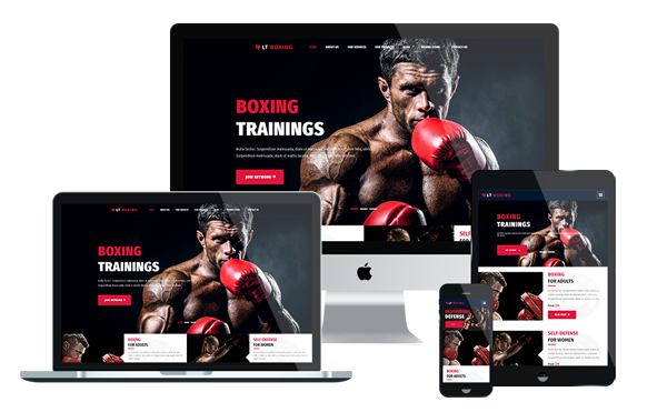 LT Boxing - Sport Wordpress theme