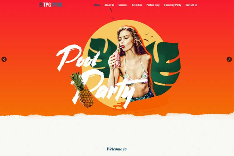 WordPress Festival Theme