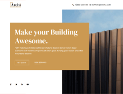 Architecture & Interior Design Joomla Template - JD Archi