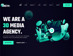 Creative Agency Joomla Template - JD Cretiv