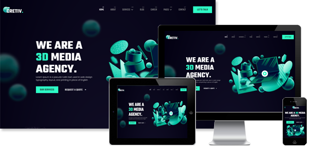 JD Cretiv - Creative Agency Joomla Template