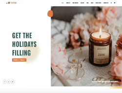 Candle Shop WordPress Theme - ET Taper