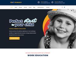Education WordPress theme - ET Primary