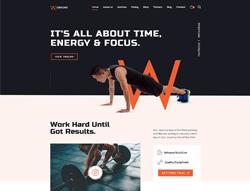 Fitness Joomla Template - JD Workout
