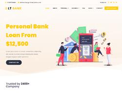 Finance/Investment WordPress Theme - LT Bank
