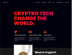 Cryptocurrency Joomla! template - LT Lico