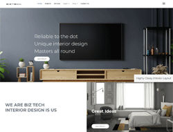 Interior Design Joomla Template -  BizTech