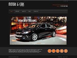 Motors and Cars Joomla Template - 002039